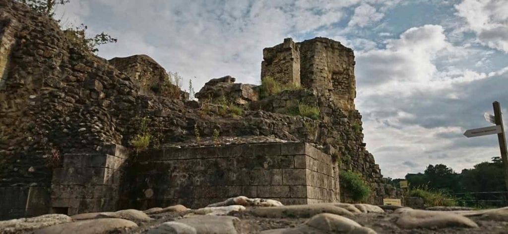 De kasteelruine van Valkenburg