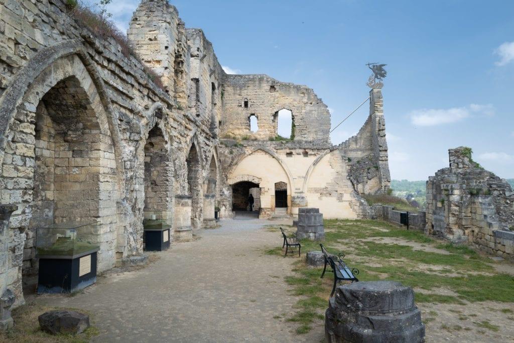 Bezoek de kasteelruine in Valkenburg