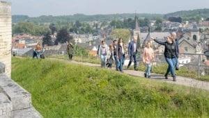 Rondleiding over de Kasteelruine in Valkenburg